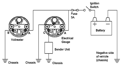 wpb8253e5b recalibrating the water temperature gauge csr175 auto gauge water temp wiring diagram at n-0.co